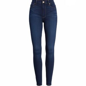 NWT Paige Hoxton High Rise Ankle Skinny Jeans